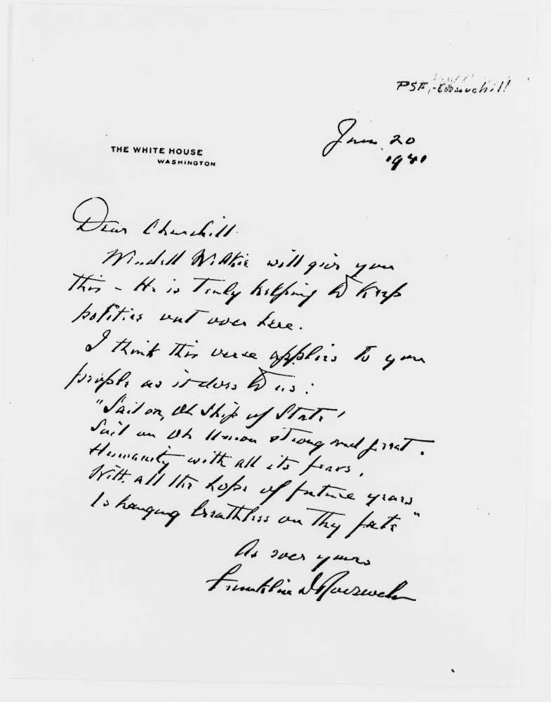 Longfellow letter